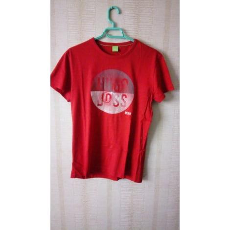 Tee-shirt HUGO BOSS Rouge, bordeaux