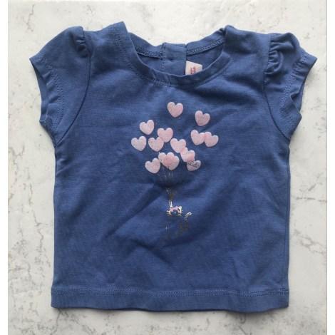 Top, tee shirt LILI GAUFRETTE Bleu, bleu marine, bleu turquoise