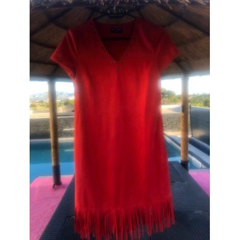 Robe courte FORTIME Rouge, bordeaux