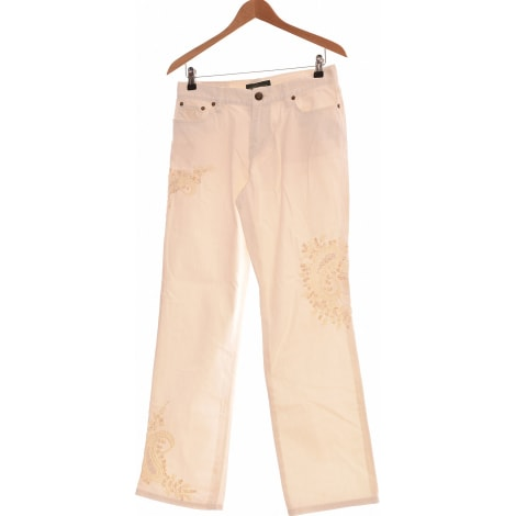 Straight Leg Jeans RALPH LAUREN White, off-white, ecru