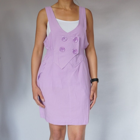 Robe courte NILVA Violet, mauve, lavande
