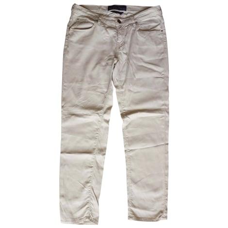 Jeans slim JACOB COHEN Blanc, blanc cassé, écru