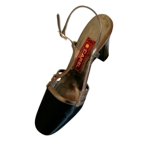Sandales à talons CAREL Gris, anthracite