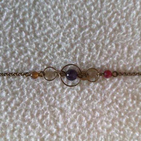 Bracelet VIRGINIE MONROE Doré, bronze, cuivre