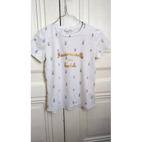 Top, Tee-shirt MINI MIGNON Blanc, blanc cassé, écru
