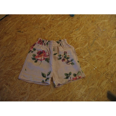 Short MADE IN ITALIE Rose, fuschia, vieux rose