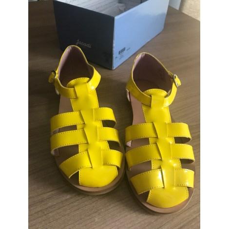 Chaussures à boucle JACADI Jaune