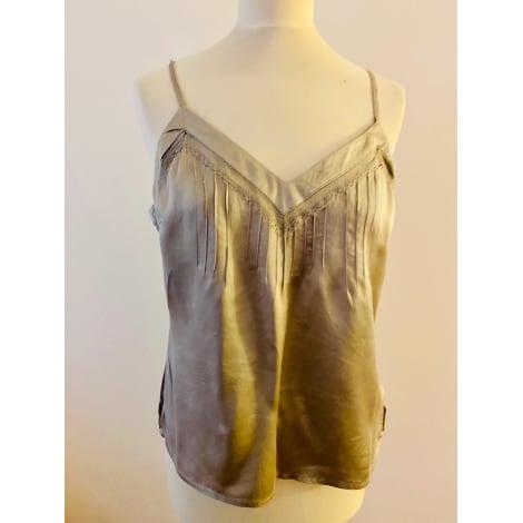 Top, tee-shirt LAURA CLÉMENT Gris, anthracite