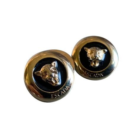 Cufflinks ESCADA Golden, bronze, copper