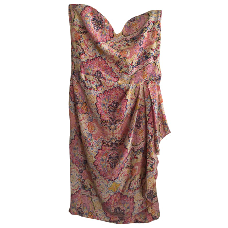 Robe courte PAUL & JOE Rose, fuschia, vieux rose