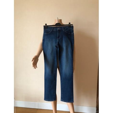 Pantalon slim, cigarette NYDJ Bleu