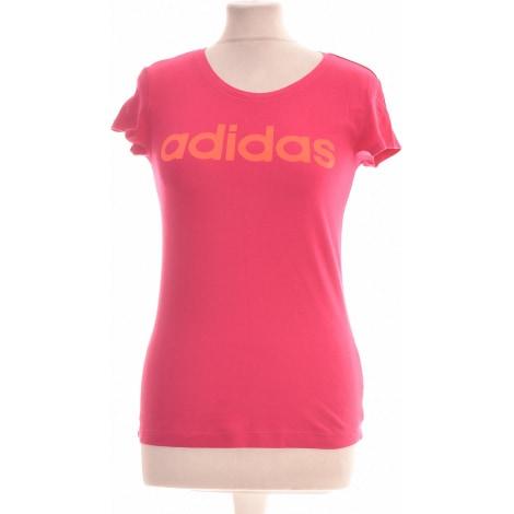Tops, T-Shirt ADIDAS Violett, malvenfarben, lavendelfarben