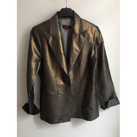 Blazer, veste tailleur KENZO Doré, bronze, cuivre