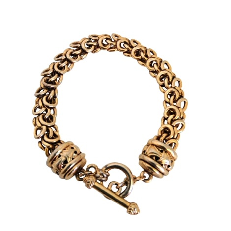Bracelet OSCAR DE LA RENTA Doré, bronze, cuivre