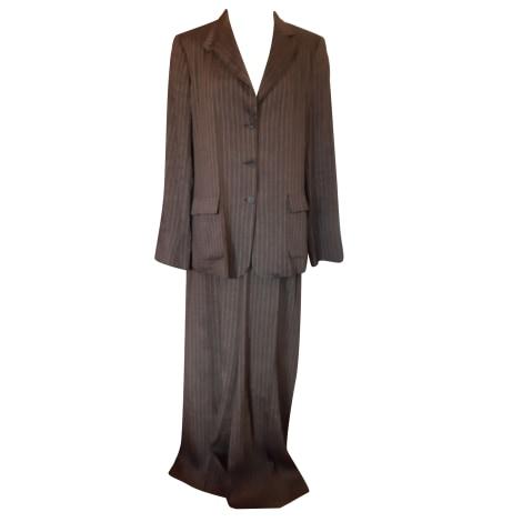 Tailleur pantalon MAX MARA Marron