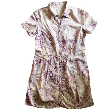 Robe courte COMPTOIR DES COTONNIERS Violet, mauve, lavande