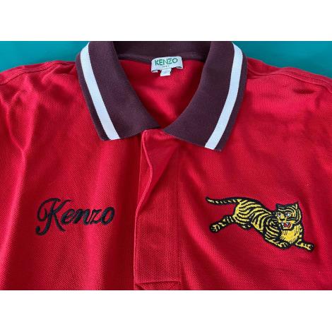 Polo KENZO Rouge, bordeaux