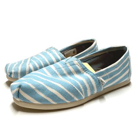 Chaussures de danse  TOMS Bleu, bleu marine, bleu turquoise