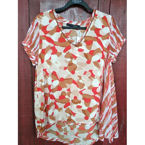 Top, tee-shirt CAPTAIN TORTUE Orange