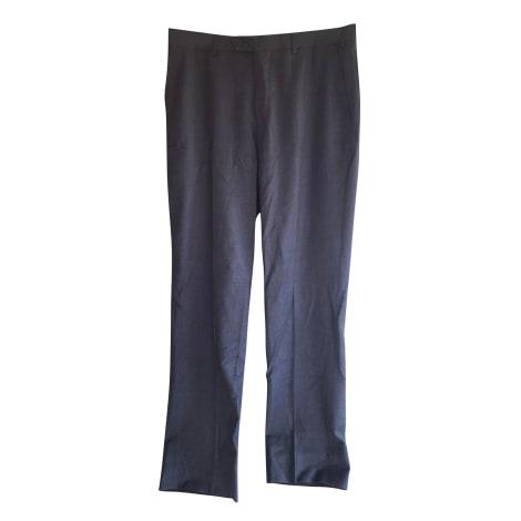 Pantalon droit CERRUTI 1881 Gris, anthracite
