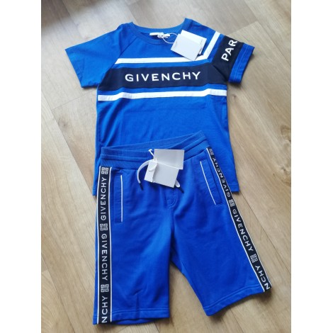 Anzug, Set für Kinder, kurz GIVENCHY Blau, marineblau, türkisblau