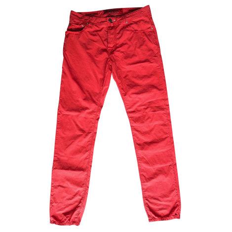 Jeans slim JACOB COHEN Rouge, bordeaux