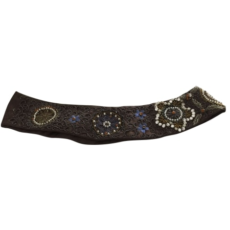 Ceinture large ARMAND VENTILO Marron