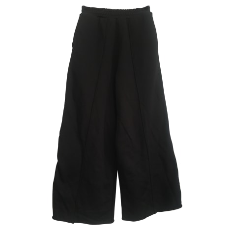 Pantalon large GOLDEN GOOSE Noir