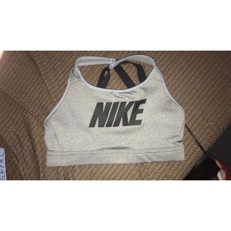 Brassière NIKE Gris, anthracite