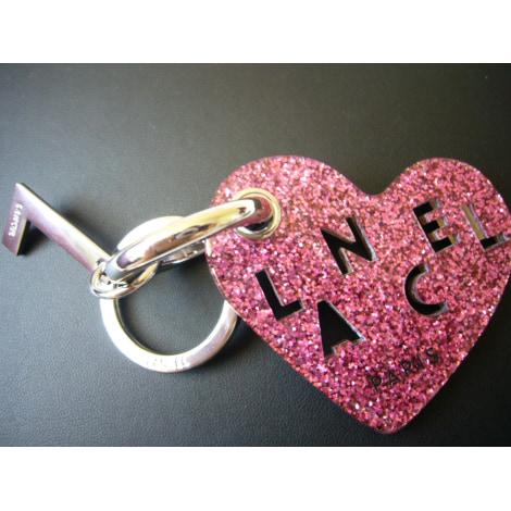 Porte-clés LANCEL Rose, fuschia, vieux rose