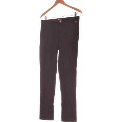 Pantalon droit DDP Noir