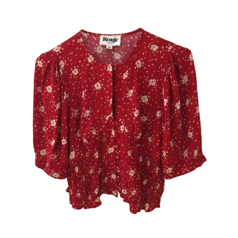 Top, tee-shirt ROUJE Rouge, bordeaux