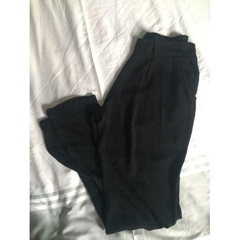 Pantalon droit SCARLET ROOS Noir