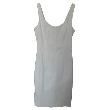 Robe courte CLUB MONACO Blanc, blanc cassé, écru