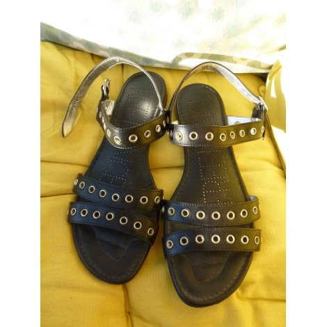 Sandales plates  FREE LANCE Noir