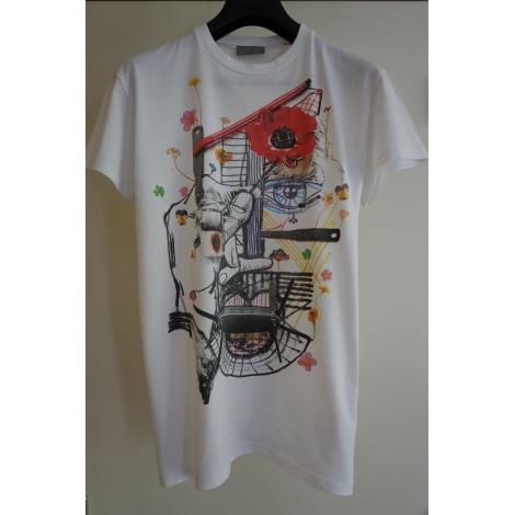 Tee-shirt DIOR Blanc, blanc cassé, écru