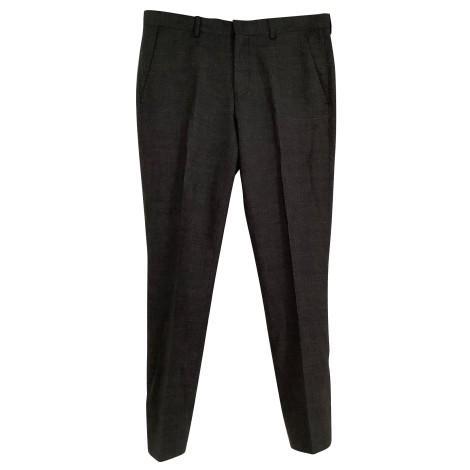 Pantalon de costume PAUL SMITH Gris, anthracite