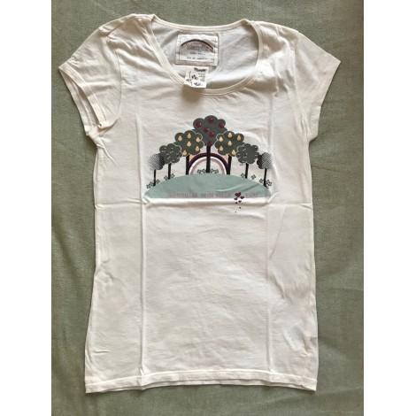 Top, tee-shirt WRANGLER Beige, camel