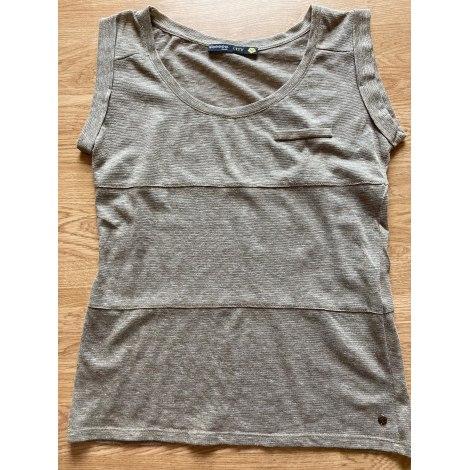 Top, tee-shirt BONOBO Doré, bronze, cuivre