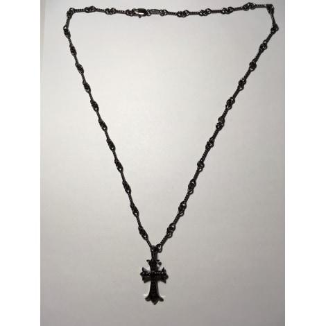 Pendentif, collier pendentif CHROME HEARTS Noir
