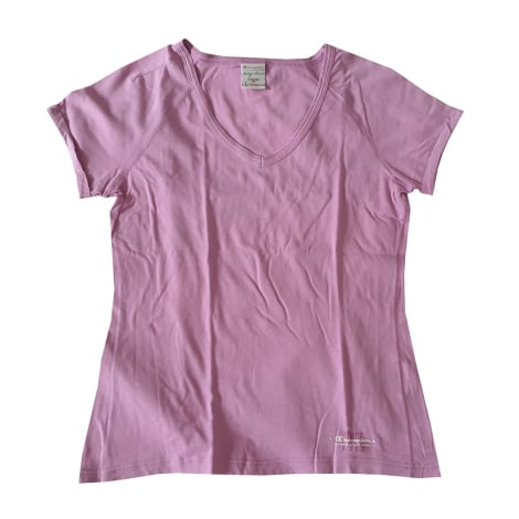 Top, tee-shirt CHAMPION Rose, fuschia, vieux rose