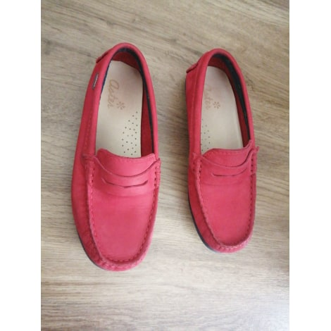 Loafers ASTER Red, burgundy