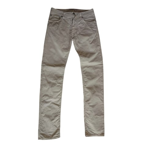 Jeans slim JACOB COHEN Beige, camel