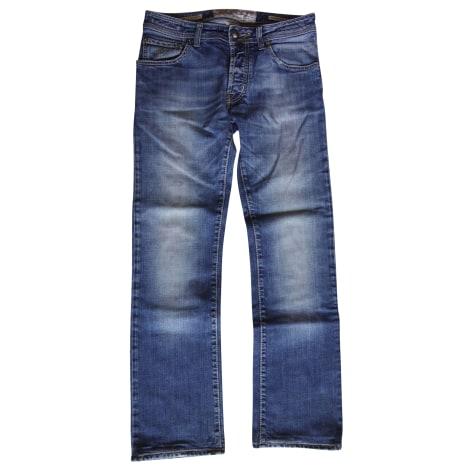 Jeans droit JACOB COHEN Bleu, bleu marine, bleu turquoise