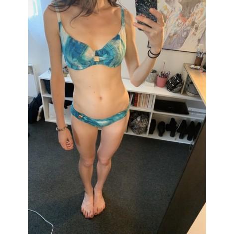 Maillot de bain deux-pièces CHANTELLE Bleu, bleu marine, bleu turquoise