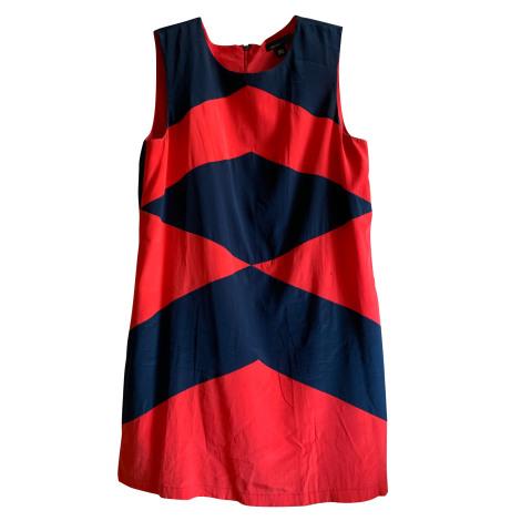 Robe courte DKNY Rouge, bordeaux