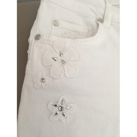 Jeans slim LIU JO Blanc, blanc cassé, écru