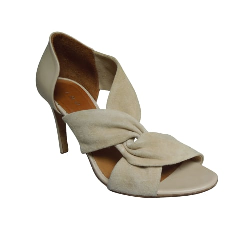 Heeled Sandals IRO White, off-white, ecru