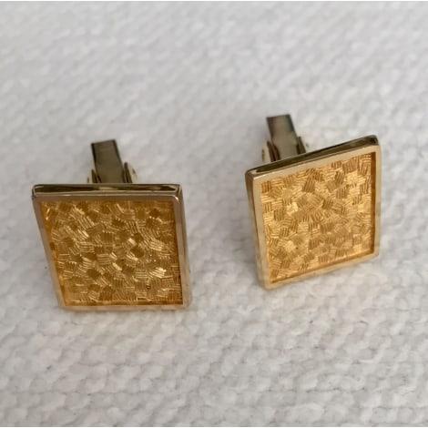 Cufflinks BIJOUTERIE INDÉPENDANTE Golden, bronze, copper
