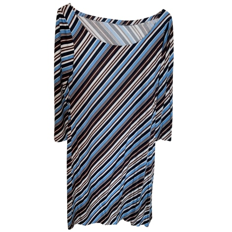 Robe mi-longue PRADA Bleu, bleu marine, bleu turquoise